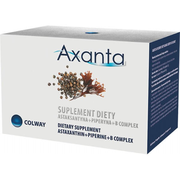 AXANTA jeden z nejsilnějších antioxidantů na světě !