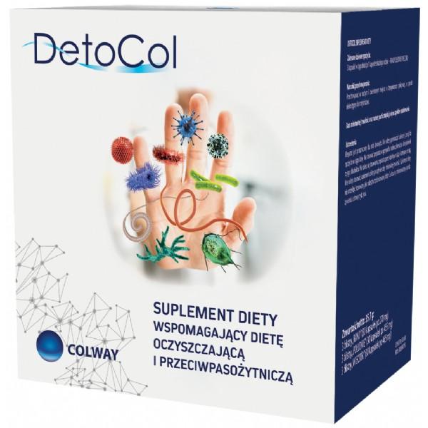 Detocol  - očista organizmu od parazitů, plísní a bakterií
