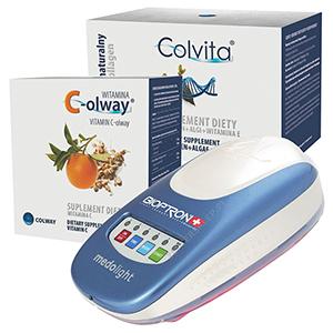 Komplet - Medolight, Colvita 120 kapslí a Vitamín C-olway