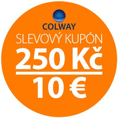 Slevový poukaz 250 Kč / 10 EUR