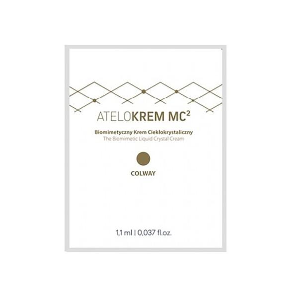 Tester ATELOKRÉM MC2 Biomimetický krém s tekutými krystaly 10  x 1,1 ml