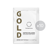 Tester NATIVNÍ KOLAGEN GOLD 10 x 1,1 ml