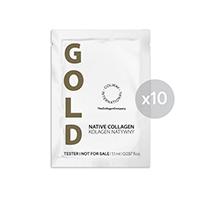 Tester NATIVNÍ KOLAGEN GOLD 10 x 1,1 ml